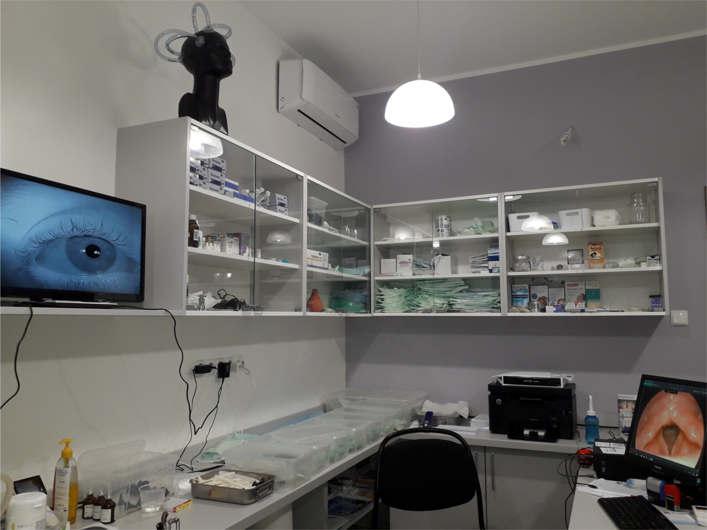 Prywatny Gabinet Laryngologiczny z pracownią VNG-videonystagmografii